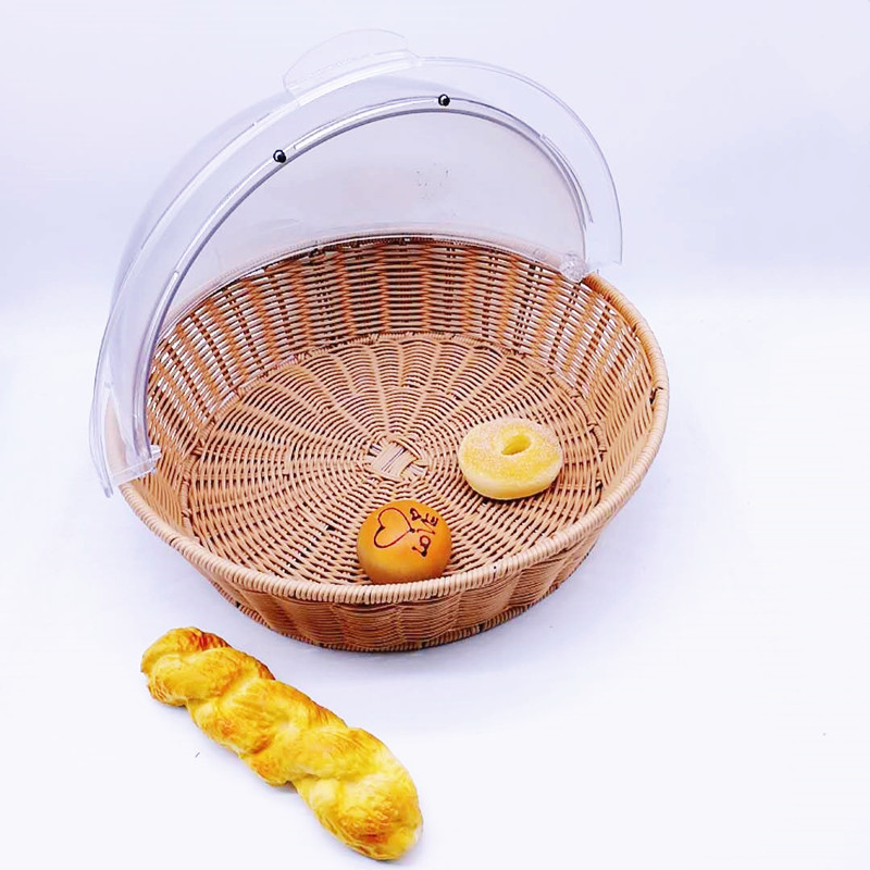 Carehome 4040cm bamboo bread basket manufacturer for sale-1