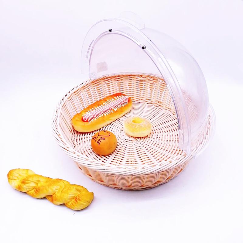 Carehome supermarket bakery basket manufacturer for family-Wicker Basket, Rattan Basket, Poly Rattan