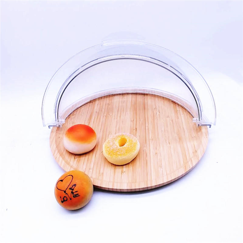 Pure and clean PC cover for 40*40cm basket for bamboo tray