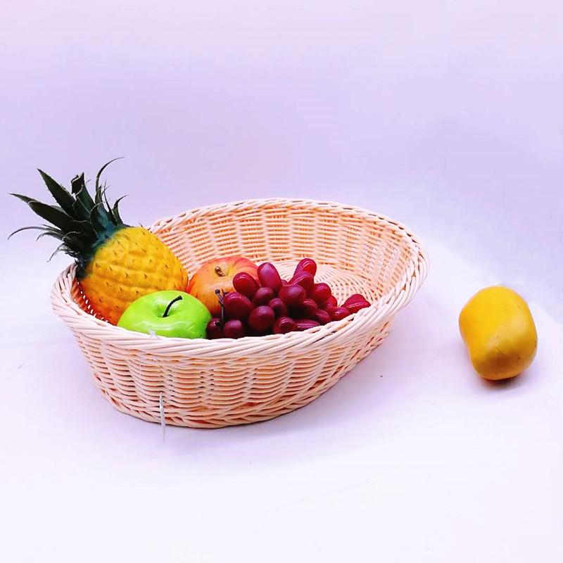 Carehome handmade wicker storage baskets for shelves manufacturer for supermarket-1