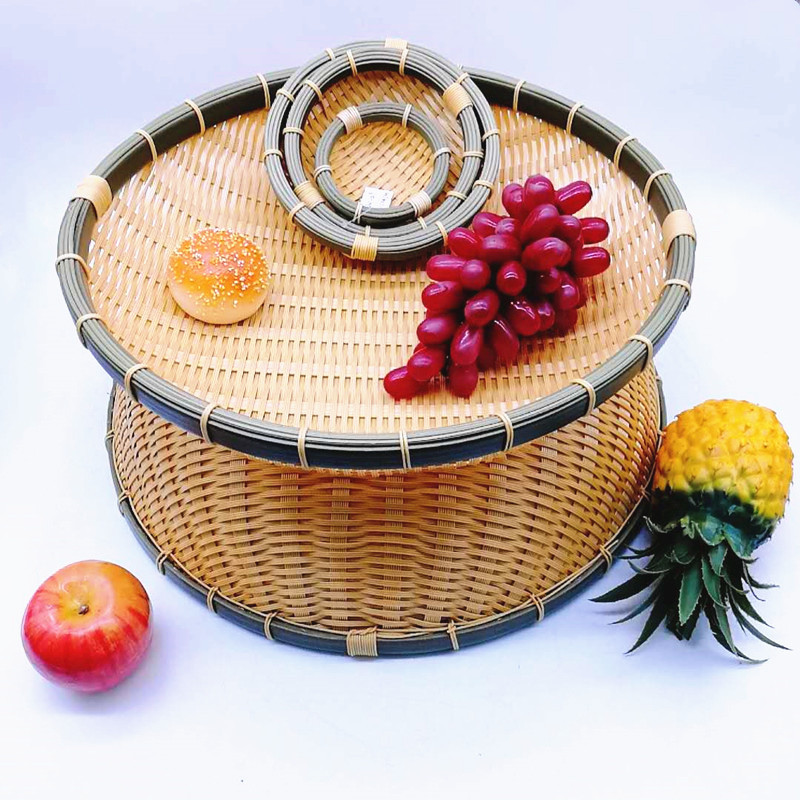 Carehome suitable Bamboo Basket with high quality for family-Wicker Basket, Rattan Basket, Poly Ratt