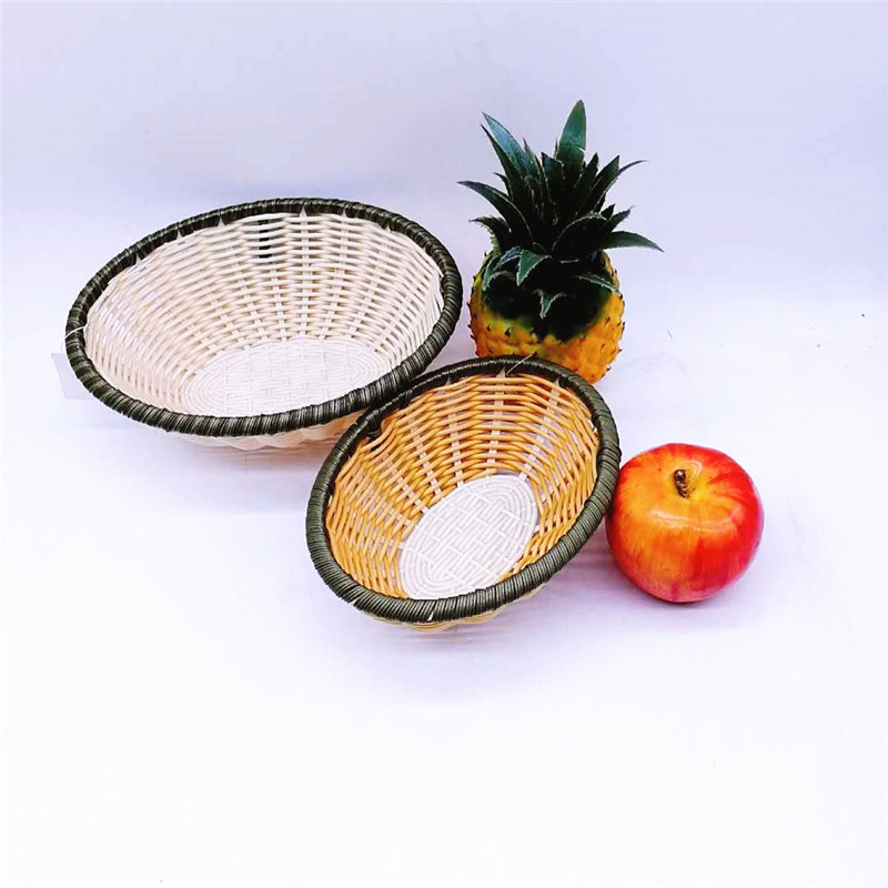 Carehome bread Bamboo Basket for shop-Wicker Basket, Rattan Basket, Poly Rattan Basket, China PP Rat