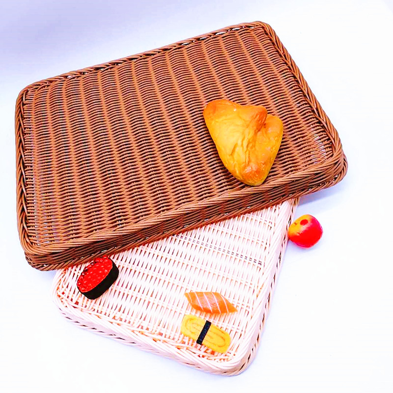 Carehome tray rattan bread basket manufacturer for sale-2