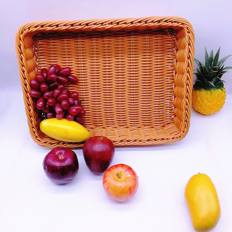 Carehome wicker fruit basket wholesale for shop-2