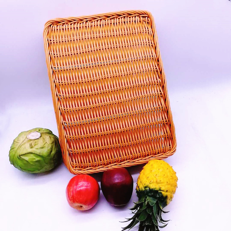 Carehome wicker fruit basket wholesale for shop-1