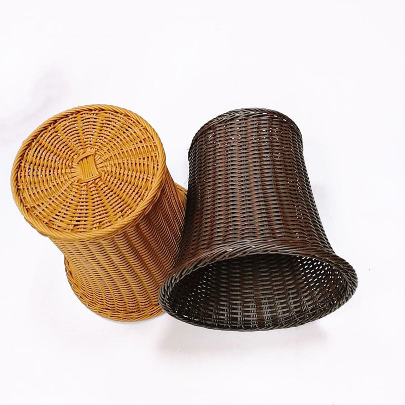 Vietnamese handmade hot sell woven rattan laundry basket