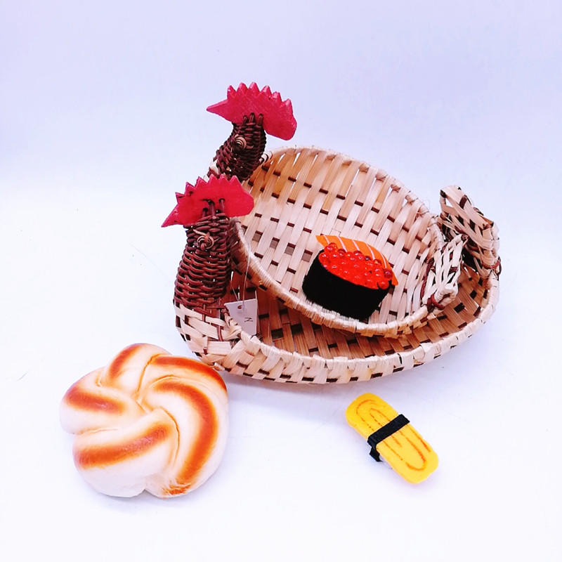 Cute mini chicken shape basket for egg and some trinket