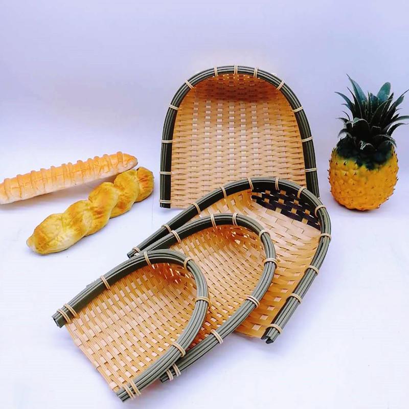 FDA Test Washable Handmade PP Bamboo Dustpan
