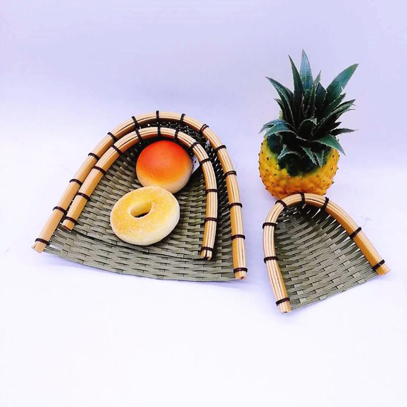 round big bamboo basket bottom ecofriendly for family-2