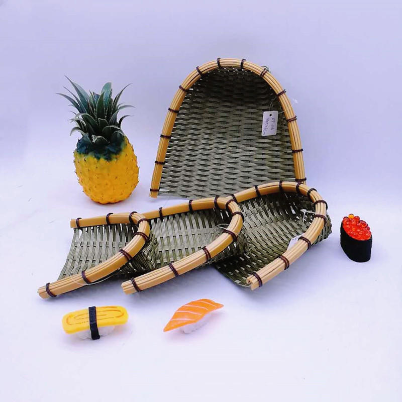 Artistic quality dustpan pp bamboo basket food tray