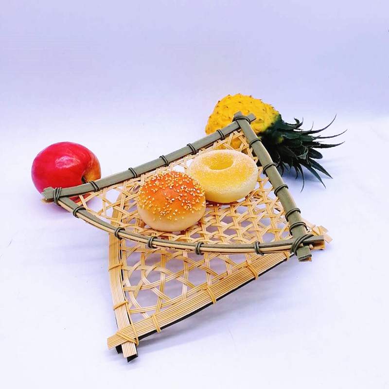 round Bamboo Basket bamboo for family-Wicker Basket, Rattan Basket, Poly Rattan Basket, China PP Rat