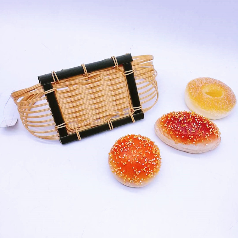 Carehome pp Bamboo Basket with high quality for sale-Wicker Basket, Rattan Basket, Poly Rattan Baske