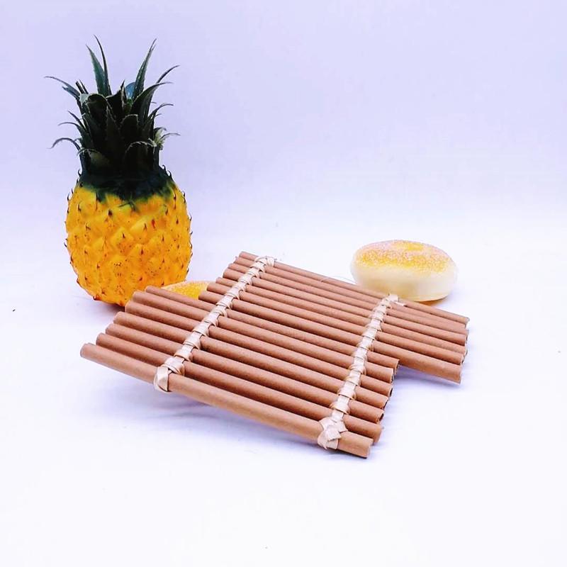 Anti-scalding pp bamboo insulation table mat plate mat tray pad pot bowl mat