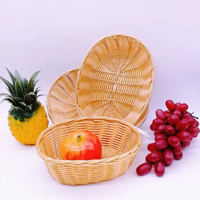 Carehome wicker wicker baskets kitchen with certificates for supermarket-2