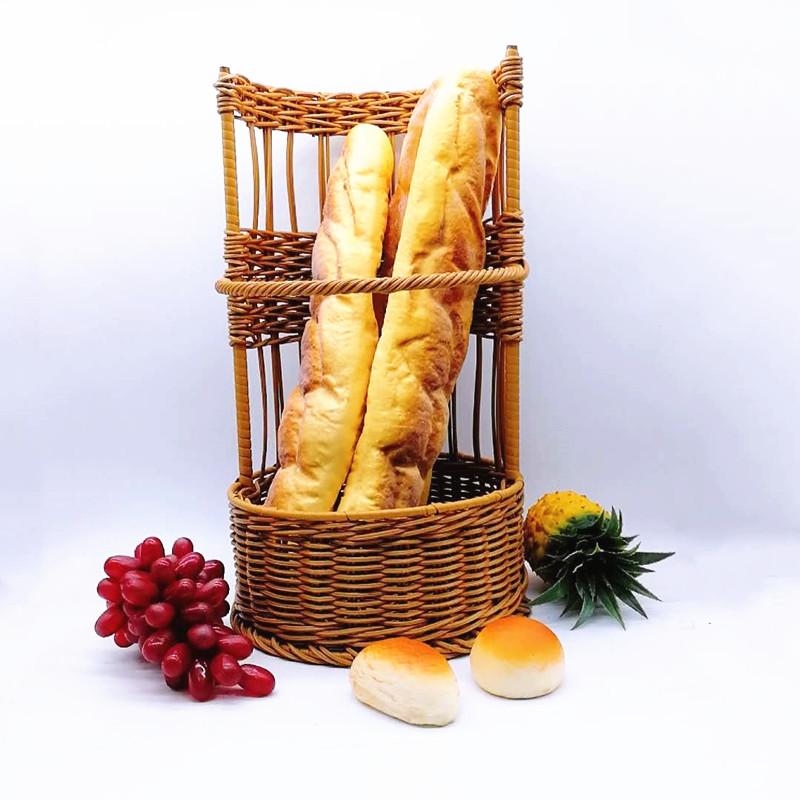 Carehome rattan rattan bread basket wholesale for market-1