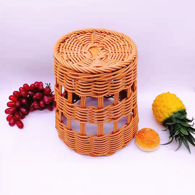 application-Handmade poly rattan wicker French bread basket for baguette-Carehome-img
