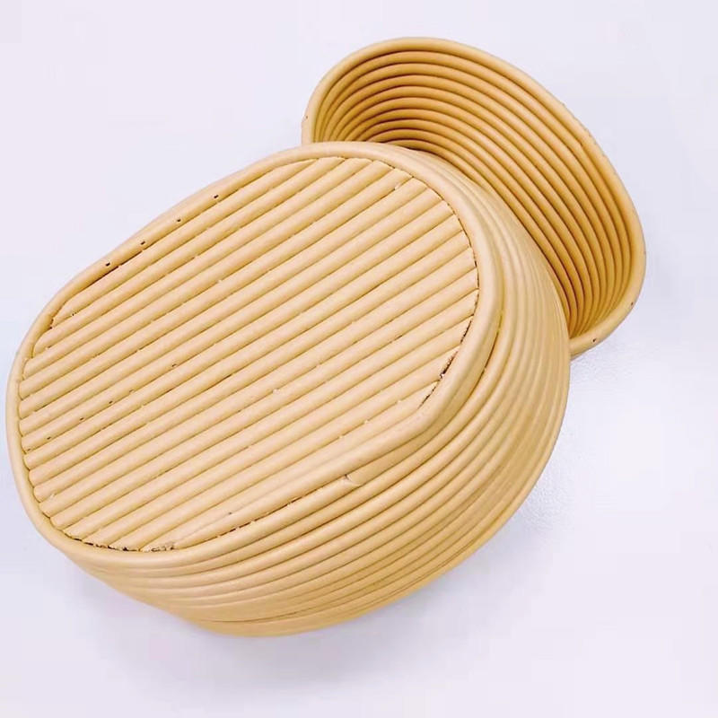 High quality handicraft oval PP banneton basket plastic proofing basket