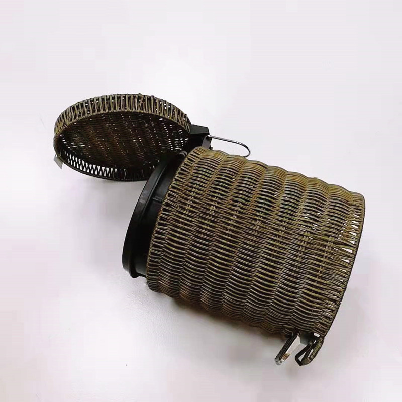 washable craft gift basket rattan with high quality for family-2
