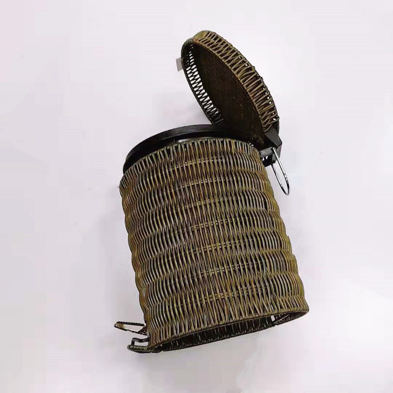 washable craft gift basket rattan with high quality for family-1