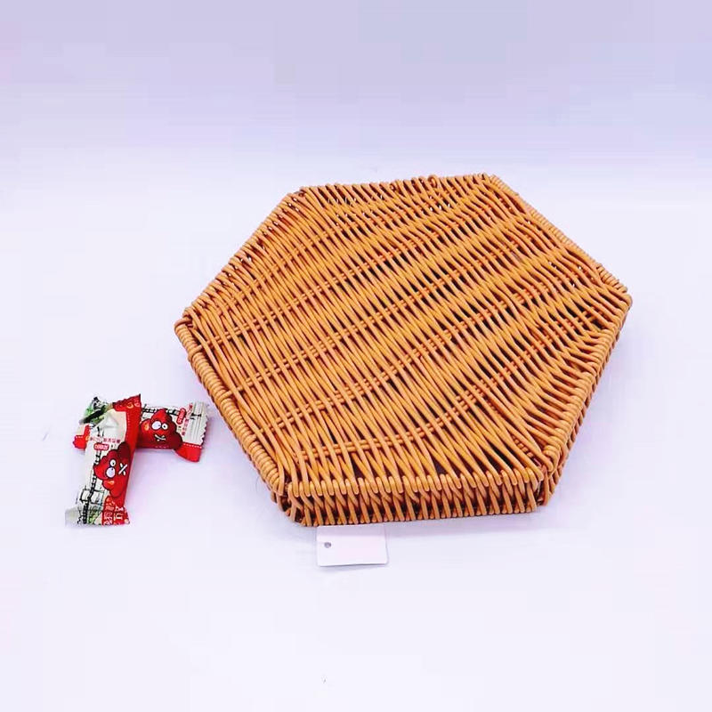 Newer listing star shape pp rattan storage basket for home life