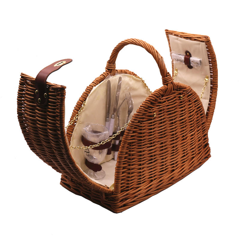 Carehome durable mini hamper basket manufacturer for supermarket