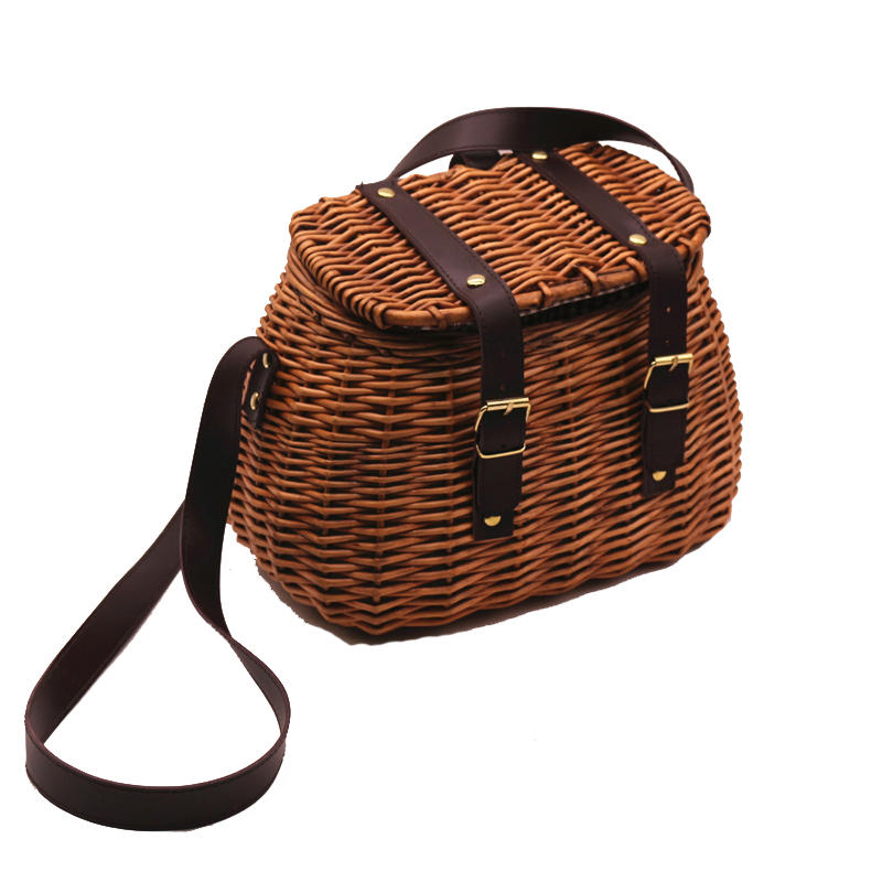 Factory wholesale nature wicker hamper picnic basket