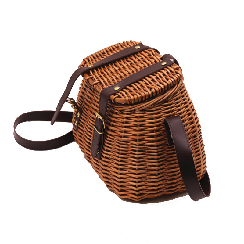 Factory wholesale nature wicker hamper picnic basket