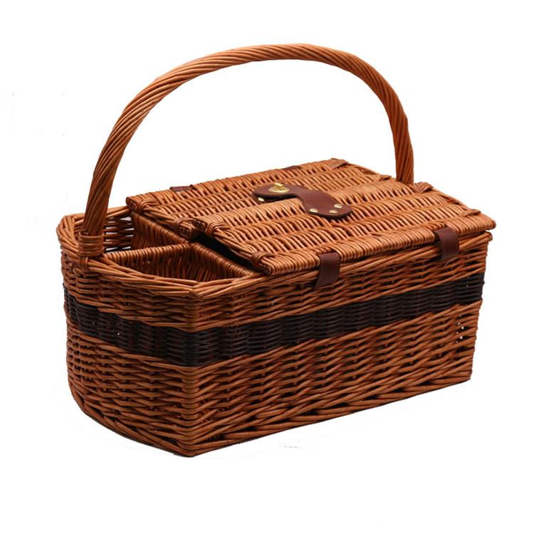 Carehome handwaving large hamper baskets manufacturer for family-2