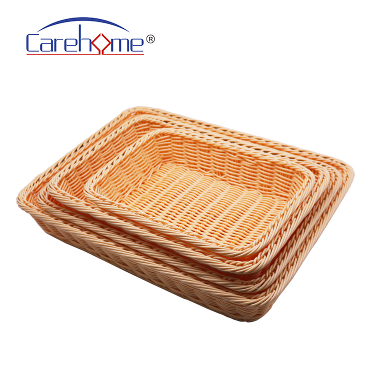 Carehome foldable wicker storage baskets for shelves wholesale for supermarket-1