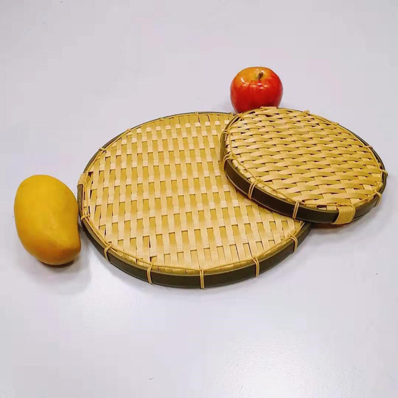 FDA durable pp bamboo basket