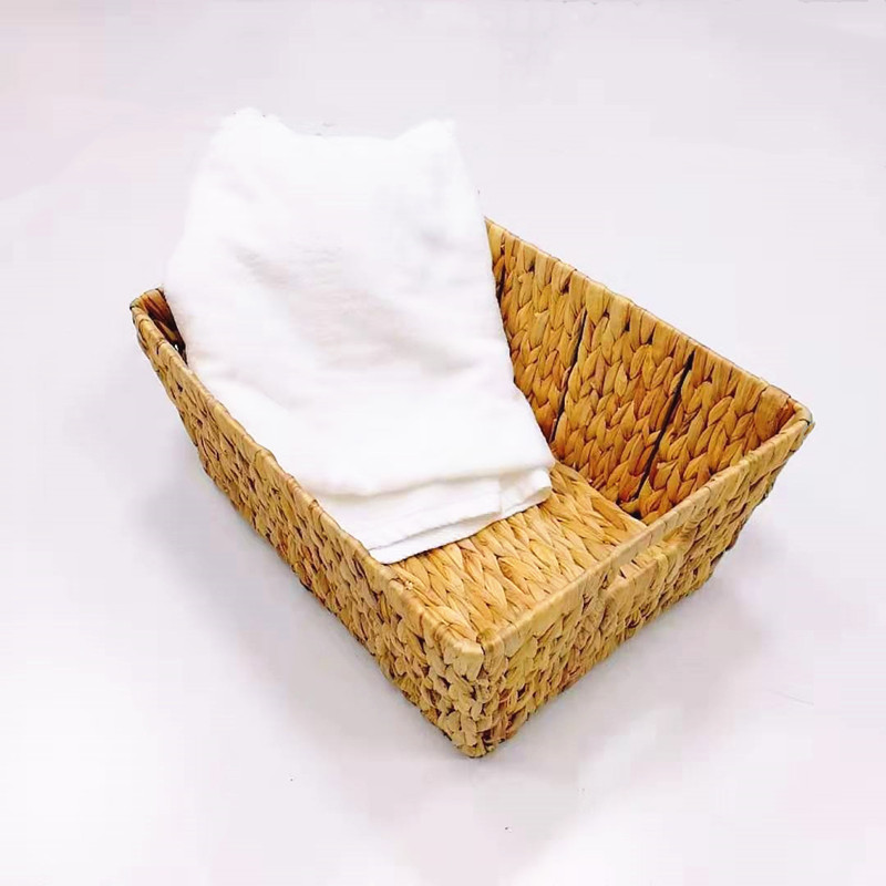 Carehome mothproof seagrass basket with handles on sale for supermarket-1