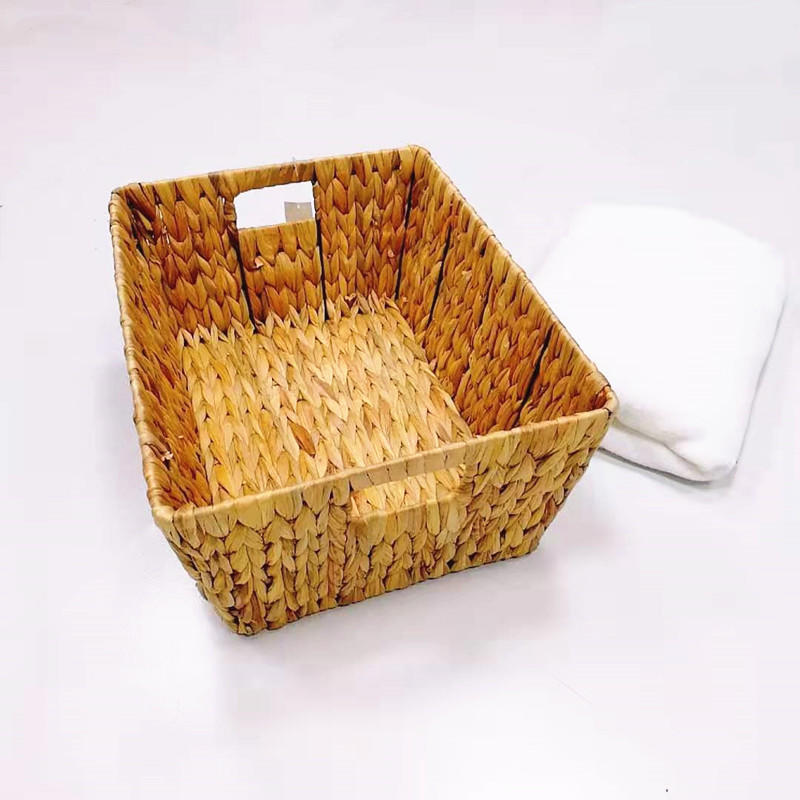 Carehome sea grass laundry basket