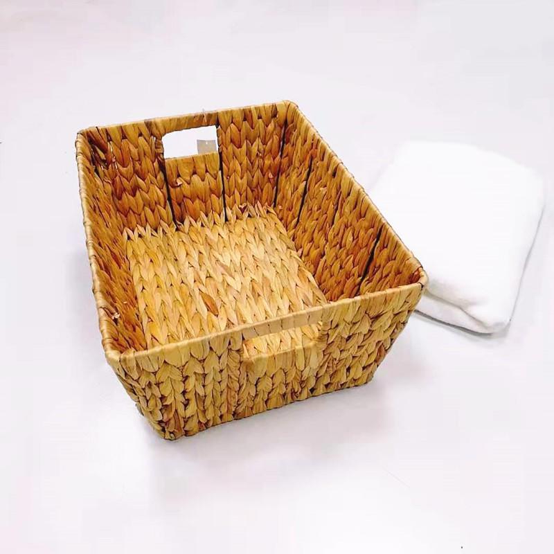 Carehome sea grass laundry basket