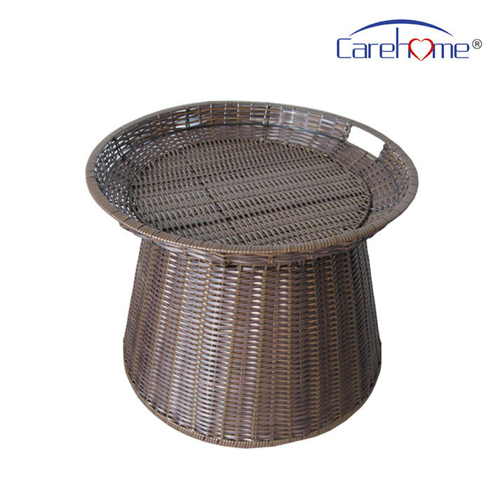 Factory price supermarket rattan basket display basket for fruit