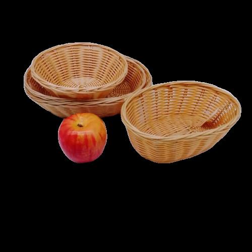 Carehome design pp wicker bread basket