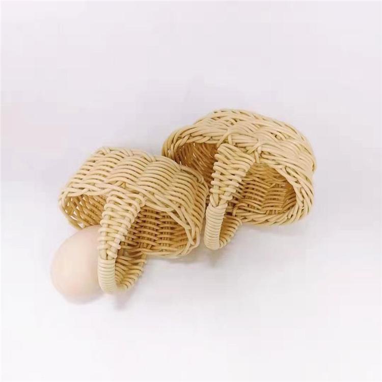 microwave safety wooden bread basket pp supplier for shop-1