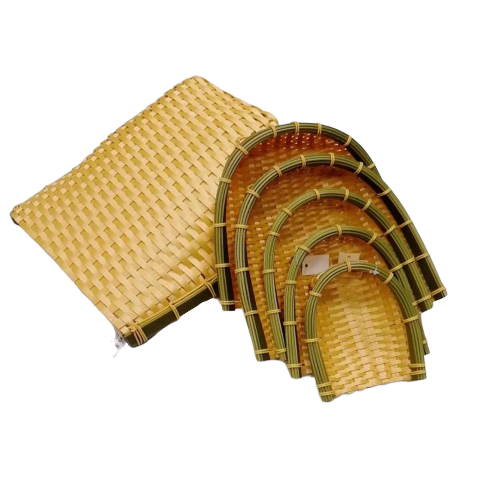 DT-003 washable PP bamboo basket