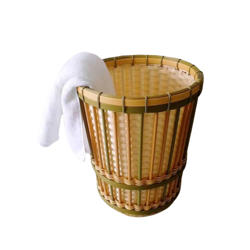 Carehome pp bamboo bathroom basket