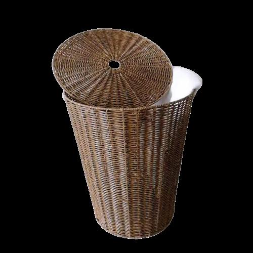 washable wicker laundry basket blt1021 manufacturer for market-2