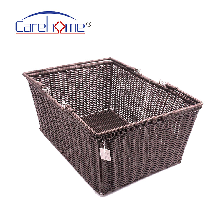 Carehome durable grey hamper basket easy to clean for market-2