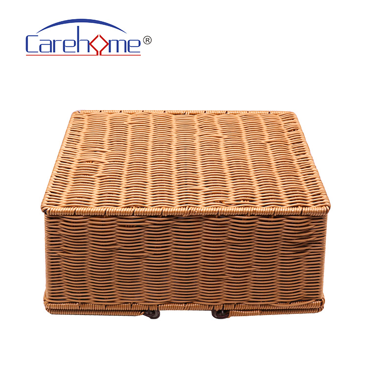 Carehome durable grey hamper basket easy to clean for market-1