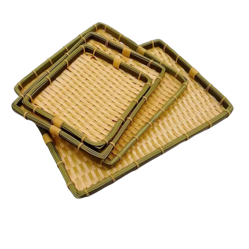 DL-002B New products washable polypropylene bamboo bread basket