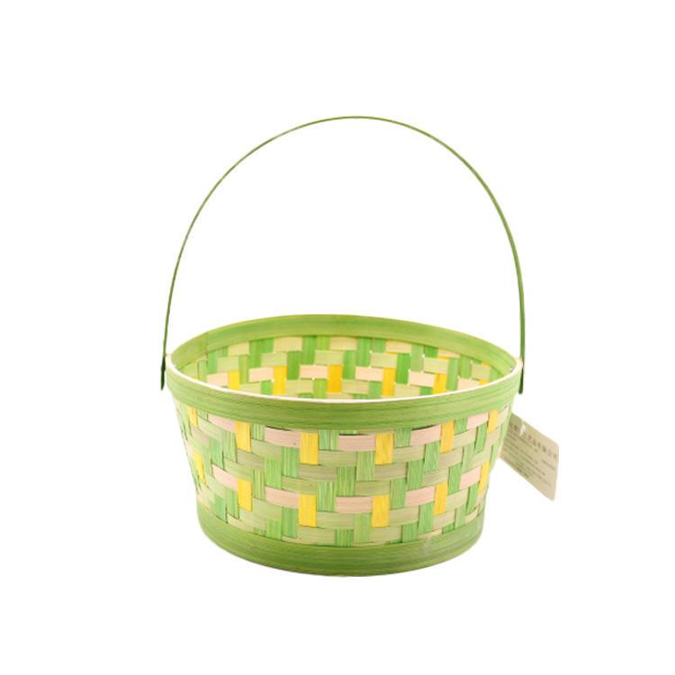 Bamboo Storage Basket Gift Basket for Christmas