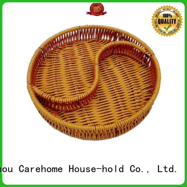 Carehome natural wicker gift baskets manufacturer for supermarket