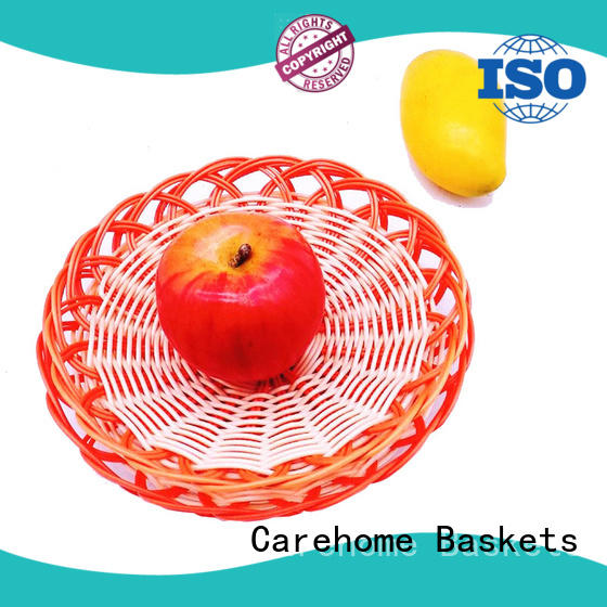 flame woven serving baskets tl1034 for supermarket Carehome