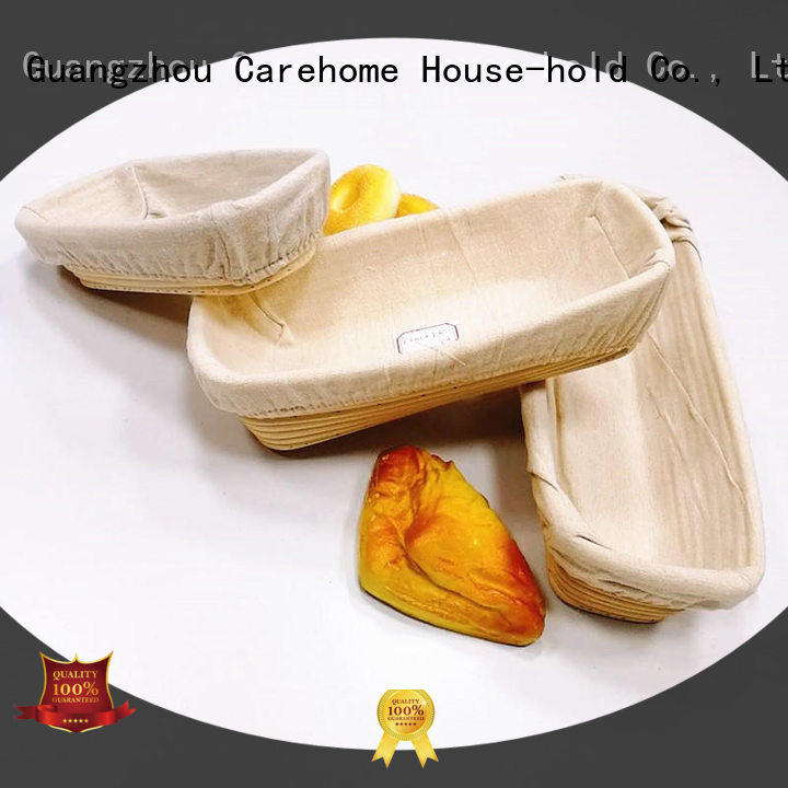 Carehome rattan bread basket supplier for family