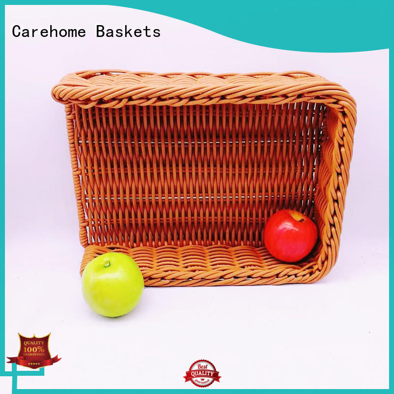moistureproof shopping wicker basket bread supplier for family