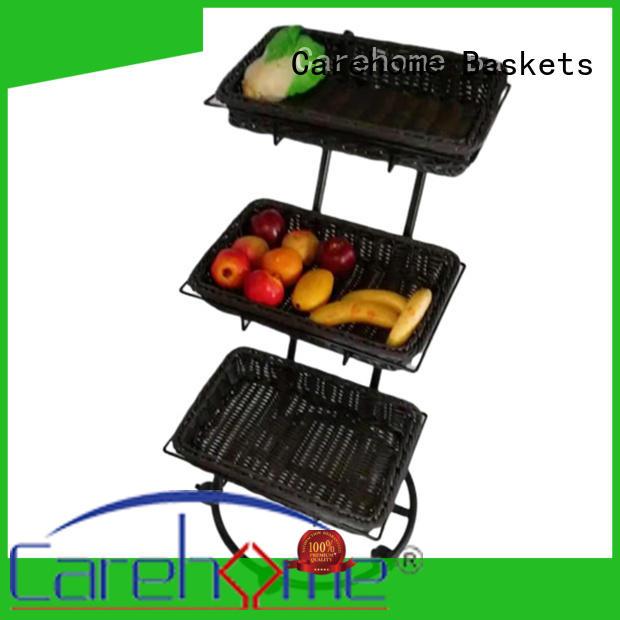 moistureproof cane shopping trolley wholesale for supermarket