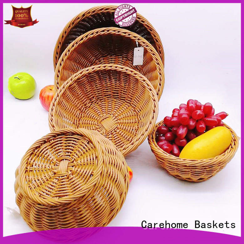 Carehome plastic bakery display baskets with high quality for sale