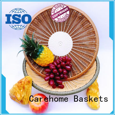 Carehome ecofriendly bamboo basket online with high quality for supermarket